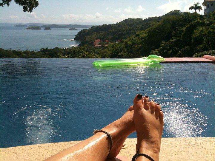 Relaxing in Costa Rica