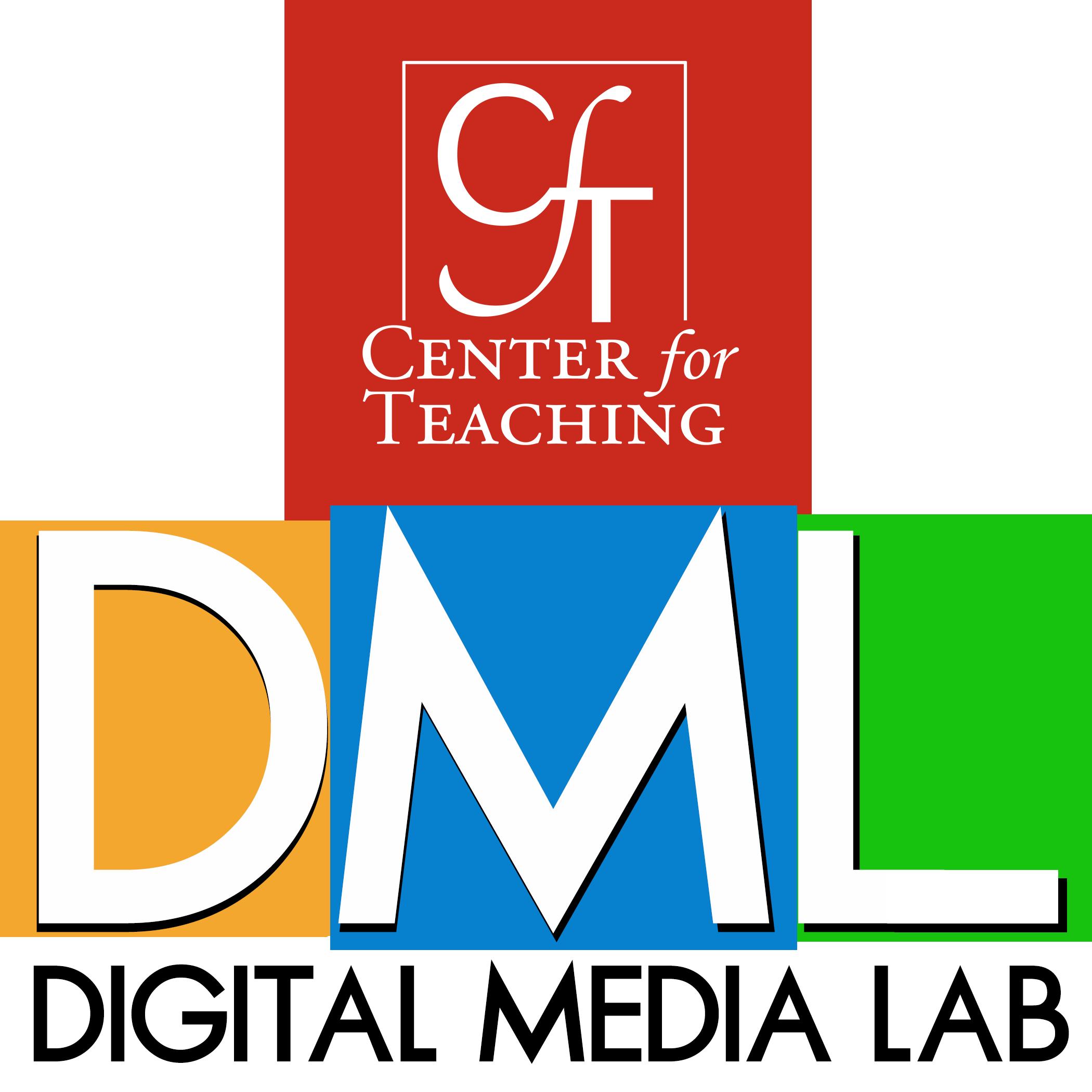 Logo for the Digital Media Lab