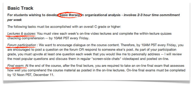 getting to know coursera statements of accomplishment center