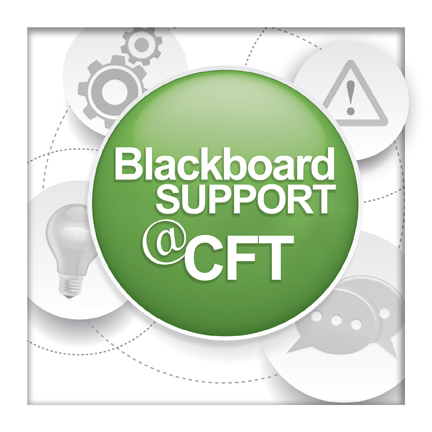 Blackboard Support at the CFT