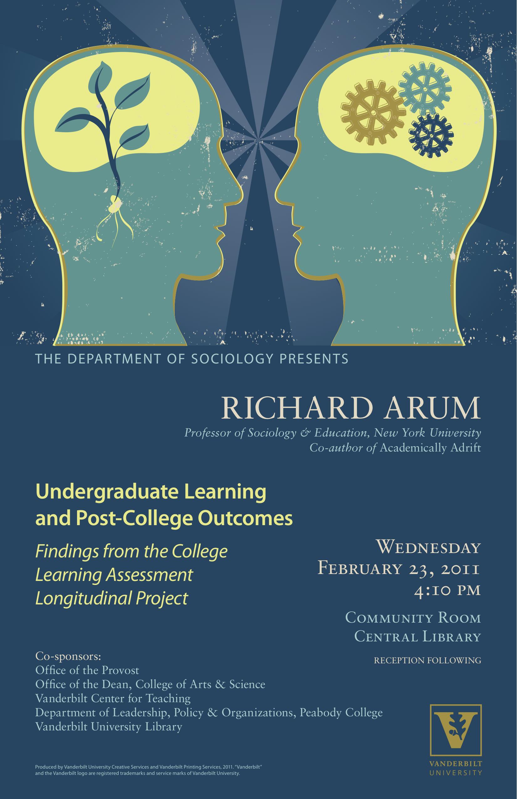 Arum Poster   Center for Teaching   Vanderbilt University